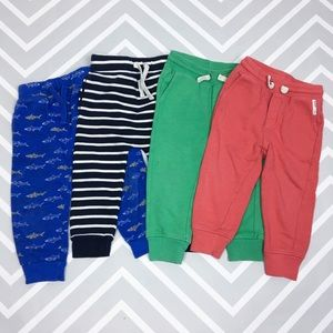 BABY GAP/OLD NAVY Lot of 4 Joggers